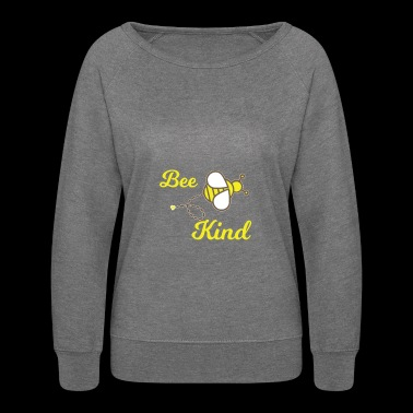 Bee Kind Tshirt - Women's Crewneck Sweatshirt
