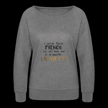 Fluent French - Women's Crewneck Sweatshirt