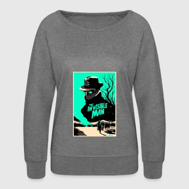 invisible man - Women's Crewneck Sweatshirt
