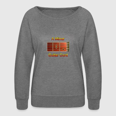 Guitar Cord - A Minor - Women's Crewneck Sweatshirt
