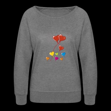 valentine's day - Women's Crewneck Sweatshirt