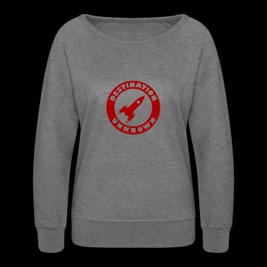 Destination Unknown - Women's Crewneck Sweatshirt