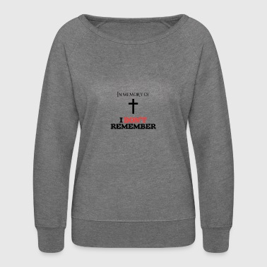 In memory of.... - Women's Crewneck Sweatshirt
