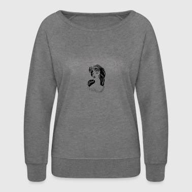 The Model - Women's Crewneck Sweatshirt