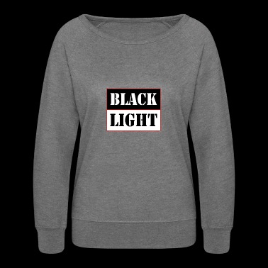 Black light red - Women's Crewneck Sweatshirt