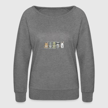 Aww and Order - Women's Crewneck Sweatshirt