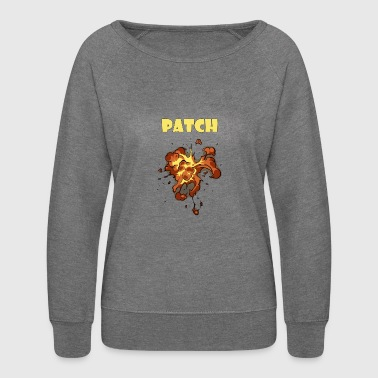 patch - Women's Crewneck Sweatshirt