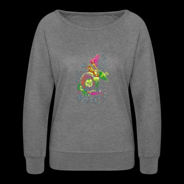 SOUR PUSS - Women's Crewneck Sweatshirt