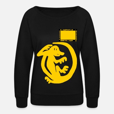 Team Orange Iguanas - Women's Crewneck Sweatshirt