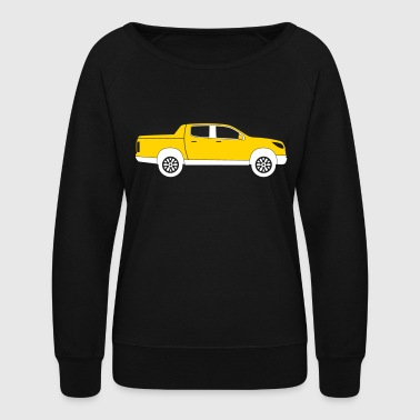 Pick-up Truck - Women's Crewneck Sweatshirt