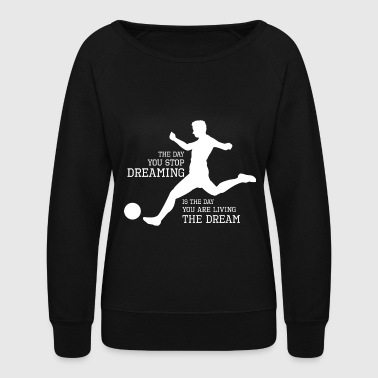 Ball Kicker - Women's Crewneck Sweatshirt