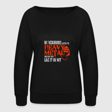 Heavy Metal Heavy Metal - Women's Crewneck Sweatshirt