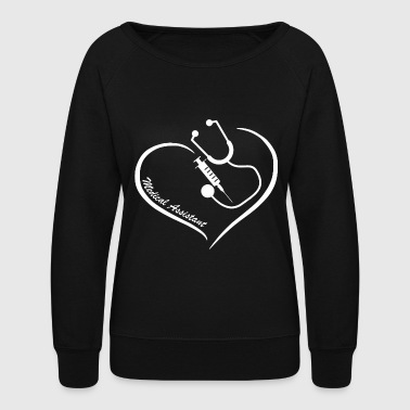 Medical assistant - medical assistant's - medica - Women's Crewneck Sweatshirt