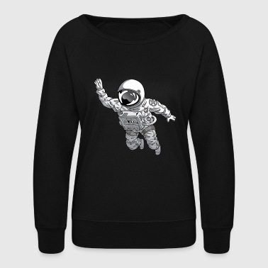 SLIGHT ASTRONAUT - Women's Crewneck Sweatshirt