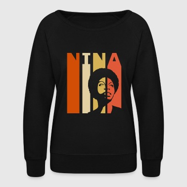 Retro Nina - Women's Crewneck Sweatshirt