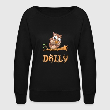 Daily Owl - Women's Crewneck Sweatshirt