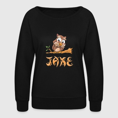 Jake Owl - Women's Crewneck Sweatshirt