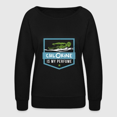 Swimming Quotes Swimming - Women's Crewneck Sweatshirt