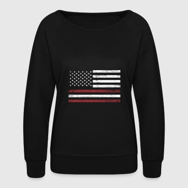 Baltic Sea Latvia America Flag Gift Baltic Sea - Women's Crewneck Sweatshirt