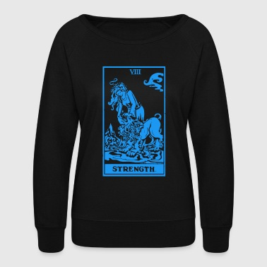 Tarot Strength - Women's Crewneck Sweatshirt