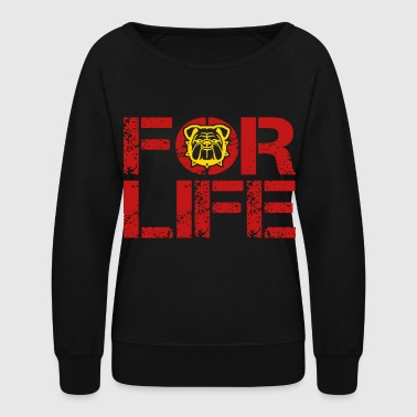 Marine For Life Marine Wife Marine Mom - Women's Crewneck Sweatshirt