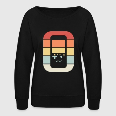 Retro Brick Game Video Game Console - Women's Crewneck Sweatshirt