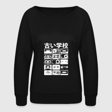 Old School - Women's Crewneck Sweatshirt