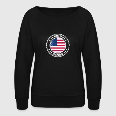 HOLLYWOOD - Women's Crewneck Sweatshirt