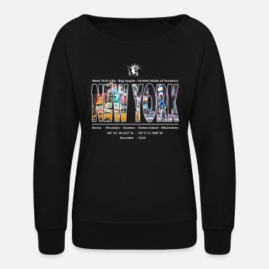 Big Apple NEW York City Big Apple - Women's Crewneck Sweatshirt