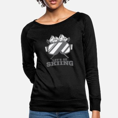Ski Resort skiing - Women's Crewneck Sweatshirt