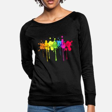 Young Wild And Free Young, wild and free - Women's Crewneck Sweatshirt