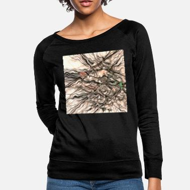 Grungy Grungy Abstract - Women's Crewneck Sweatshirt