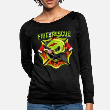 Fire Fire and Rescue - Women's Crewneck Sweatshirt