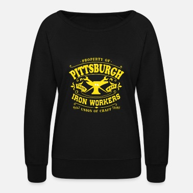 Iron Worker Pittsburgh Iron Workers - Women's Crewneck Sweatshirt