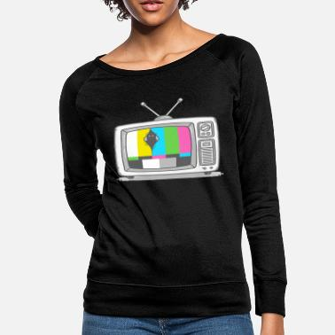 Watch Tv Watching TV - Women's Crewneck Sweatshirt