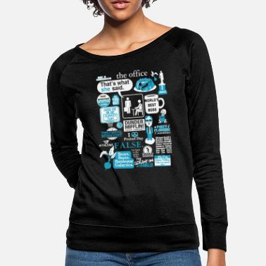 The Office The office - Cool t-shirt for office lovers - Women's Crewneck Sweatshirt