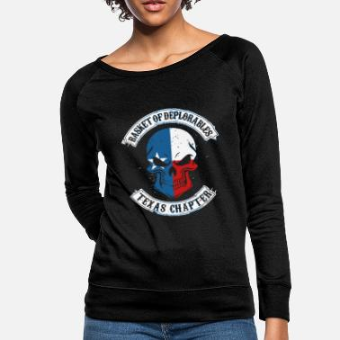 Basket Basket - basket of deplorables - Women's Crewneck Sweatshirt