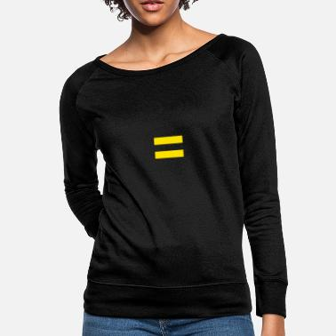 Equal For Equality By Equalitees Design For Social - Women's Crewneck Sweatshirt