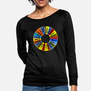 Wheel Wheel of Fortune logo Shirt - Women's Crewneck Sweatshirt
