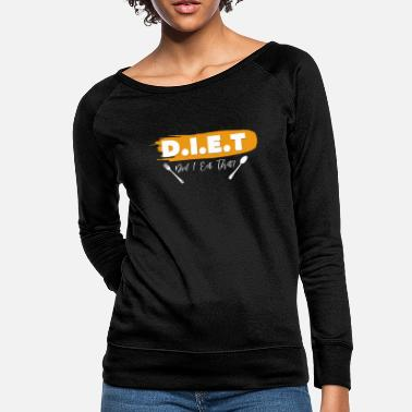 Diet Diet - Women's Crewneck Sweatshirt