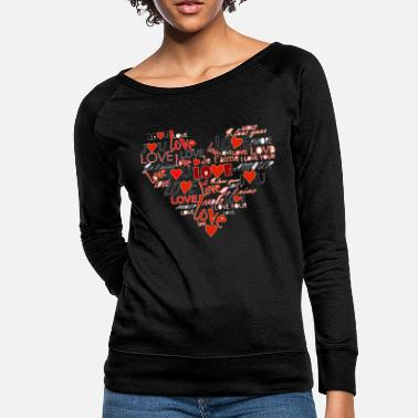 Heart heart - Women's Crewneck Sweatshirt