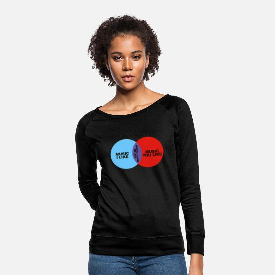 Crowd Hoodies & Sweatshirts - it crowd - Women's Crewneck Sweatshirt black