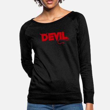 Horns Devil horn gift - Women's Crewneck Sweatshirt