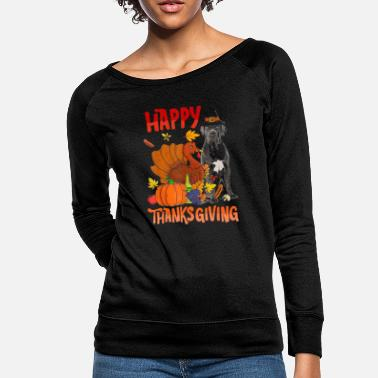 HAPPY THANKSGIVING - Women's Crewneck Sweatshirt