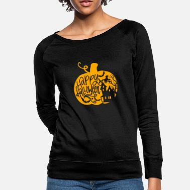 Halloween Pumpkin - Women's Crewneck Sweatshirt