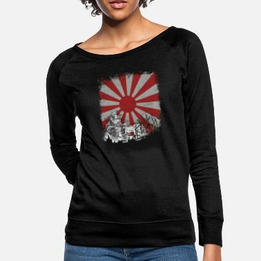Sun Japanese Palace and Sun - Women's Crewneck Sweatshirt