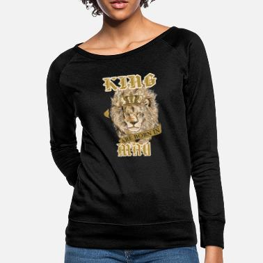 KING BORN IN MAY - Women's Crewneck Sweatshirt