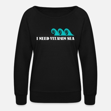 Vitamin C Vitamin Sea - Vitamin C / Gift Idea - Women's Crewneck Sweatshirt