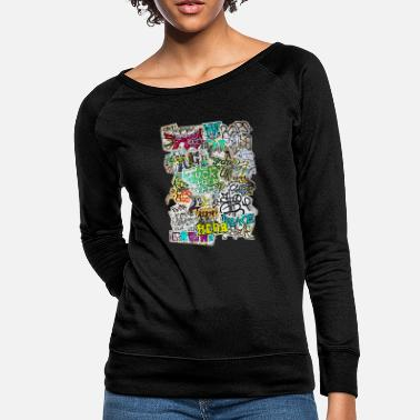 Graffiti graffiti madness - Women's Crewneck Sweatshirt