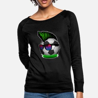 Ultras Soccer Ball Punk Ultras - Women's Crewneck Sweatshirt